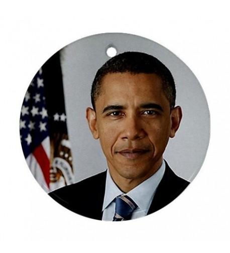 Barack Obama Ornament porcelain Christmas