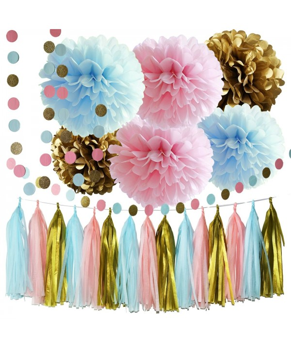 Gender Party Supplies Decorations Garland