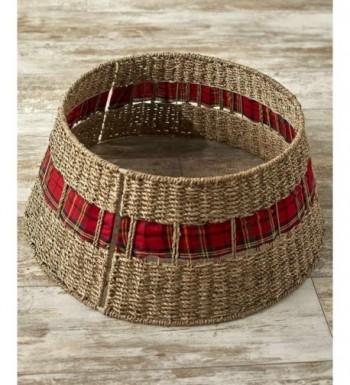 Lakeside Collection Rattan Christmas Collar