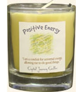 Crystal Journey Herbal Filled Votive