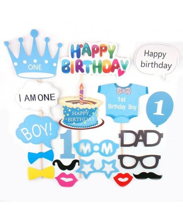 Losuya Birthday Shower Photobooth Mustache