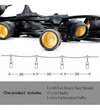 Outdoor String Lights Wholesale