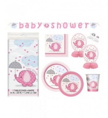 Umbrellaphants Girl Shower Party Supplies