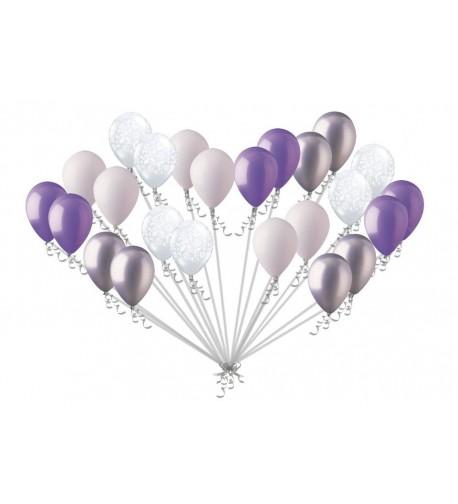 Elegant Lavender Balloons Decoration Birthday