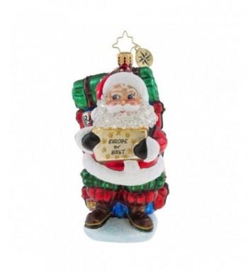 Christopher Radko Europe Themed Ornament