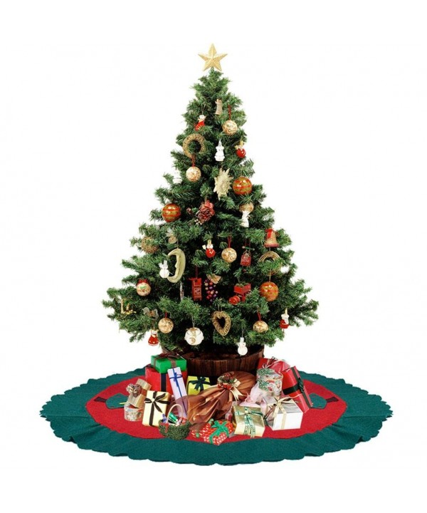 WXJ13 Christmas Non Woven Holiday Decorations