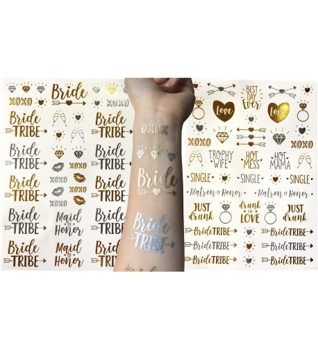 Bachelorette Party Temporary Tattoo Collection