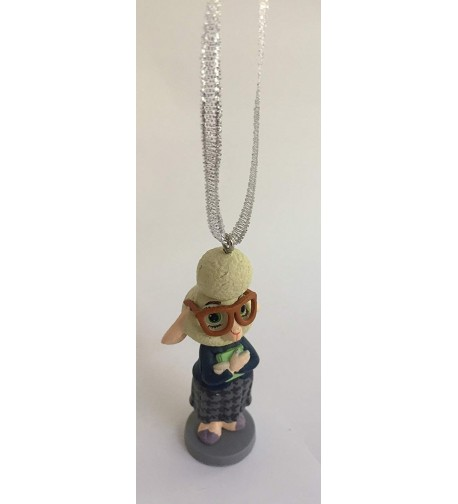Zootopia Assistant Bellwether Christmas Ornament