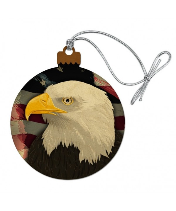 American Patriotic Christmas Holiday Ornament