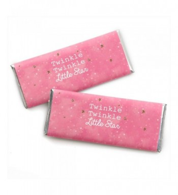 Pink Twinkle Little Star Wrappers