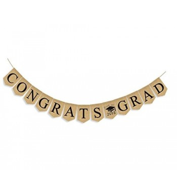 CONGRATS Graduation Bunting Garland Supplies