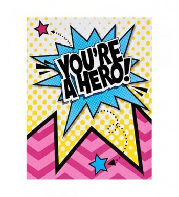 BirthdayExpress Superhero Girl Party Supplies x