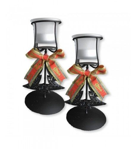 BANBERRY DESIGNS Christmas Candle Holders