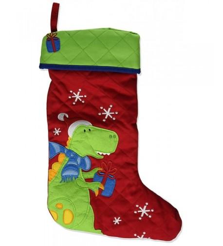 Stephen Joseph Christmas Stocking Dino