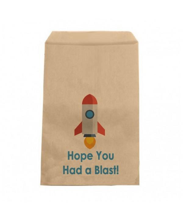 Rocket Favor Bags Shower Birthday