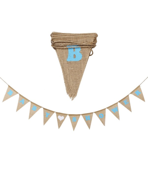 bunting Decorations Vintage Pennants Lettering