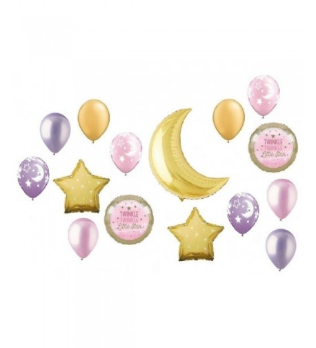 Twinkle Crescent Balloon Decorating Balloons