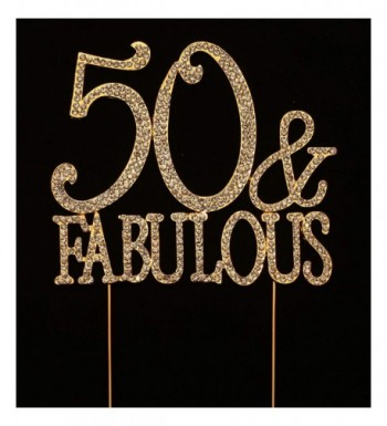 Fabulous Birthday Topper Decorations Inches