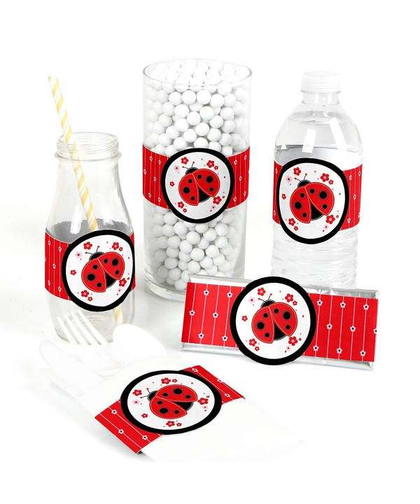 Modern Ladybug Supplies Birthday Decorations