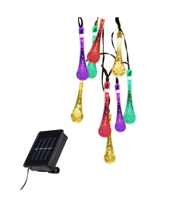 Outdoor Solar LED String Lights