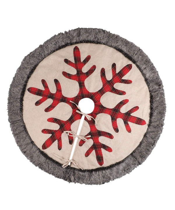 TDW Christmas Buffalo Snowflake Ornament