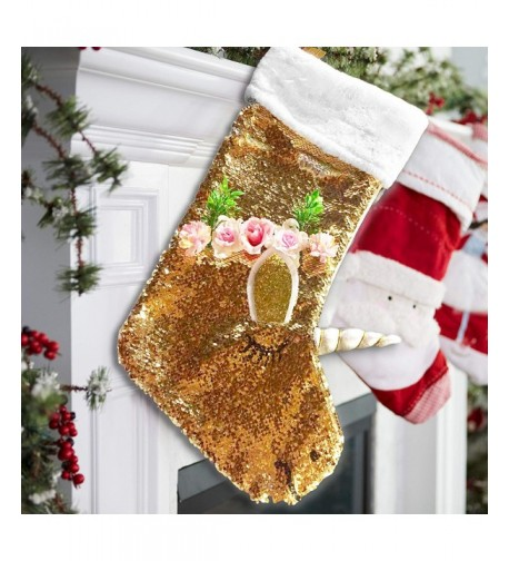 Katie Doodle Unicorn Christmas Stocking