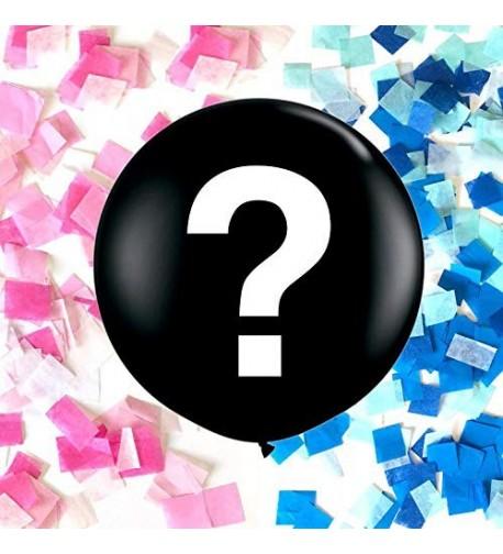Industrial Gender Balloon Question Confetti