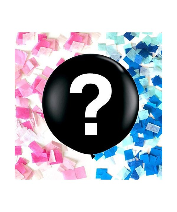Industrial Gender Balloon Question Confetti