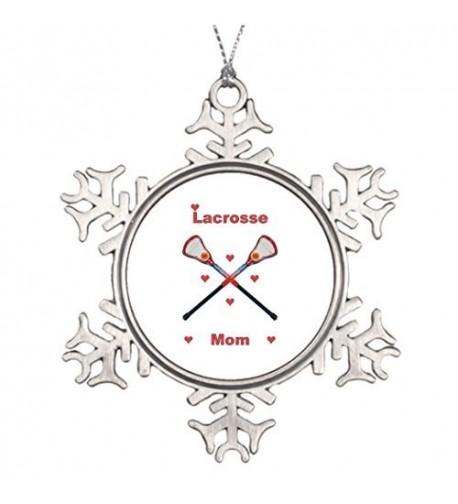 Christmas Snowflake Ornaments Lacrosse Decoration