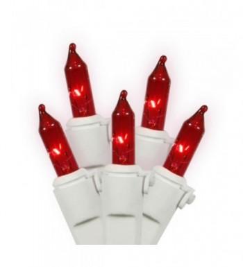 Set Red Mini Christmas Lights