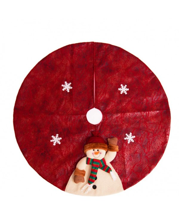 Yzakka Christmas Snowman Snowflake Decoration