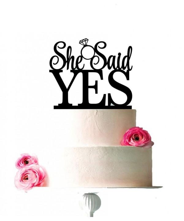 USA SALES Topper Bridal Engagement Decoration