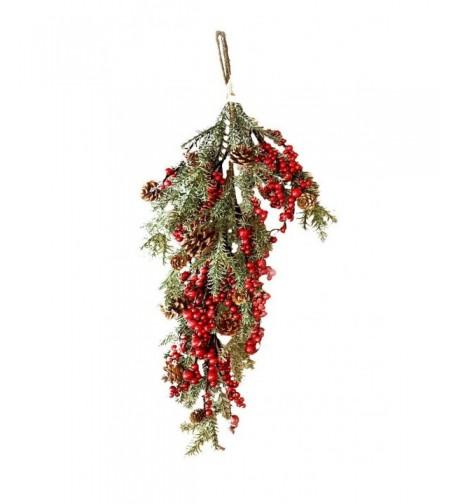 Darice Christmas Pinecone Teardrop Inches