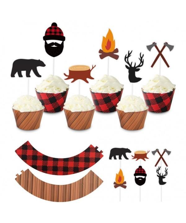 UTOPP Christmas Lumberjack Wrappers Decoration