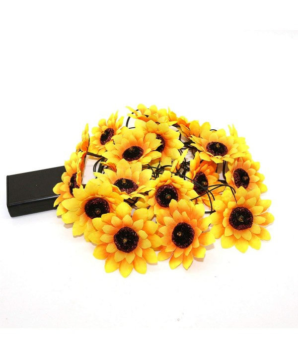 CVHOMEDECO Sunflower Artificial Birthday Seasonal