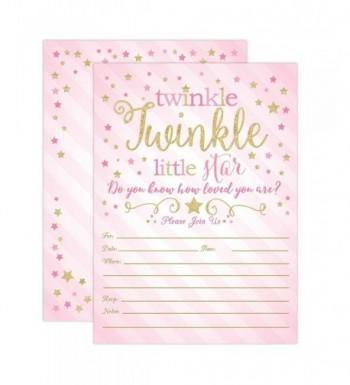 Twinkle Little Invitations Invites Envelopes