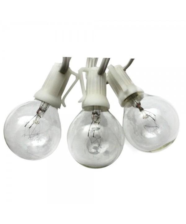 Globe string light 50ft white