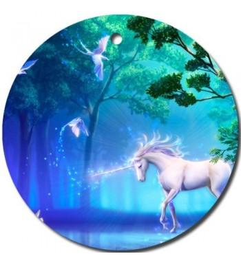 MYDply Unicorn Ornament porcelain Christmas