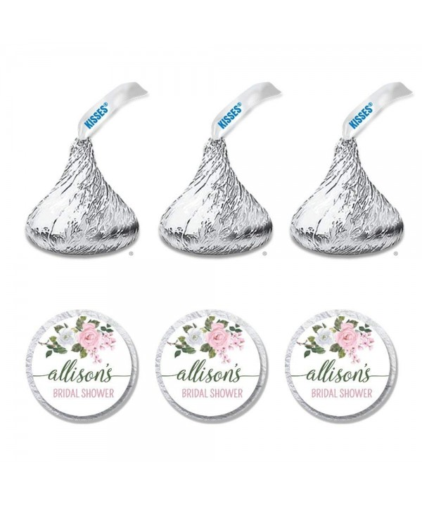 Personalized Bridal Shower Candy Stickers