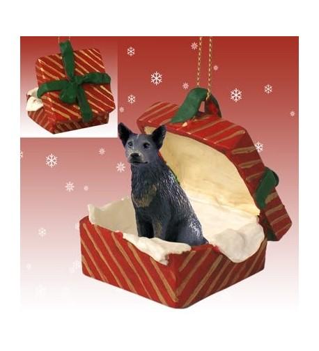 DELIGHTFUL! Ferret Gift Box Christmas Ornament