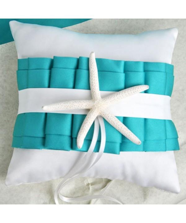 CheckMineOut Turquoise Starfish Wedding Decoration