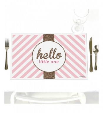 Hello Little One Decorations Placemats