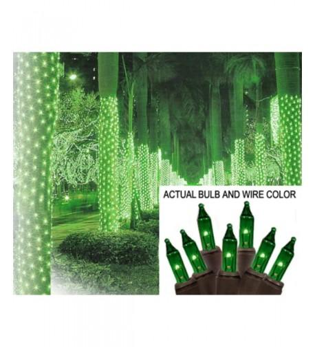 Sienna Green Christmas Style Lights