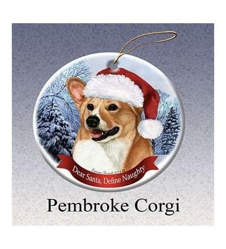 Pet Gifts Porcelain Christmas Ornament