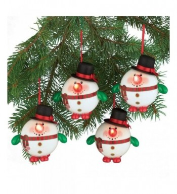 Collections Etc Lighted Christmas Ornaments