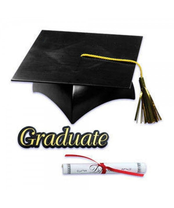 Graduation Diploma Graduate Cupcake Decorations