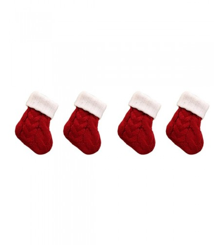 Festar Unique Burgundy Christmas Stockings