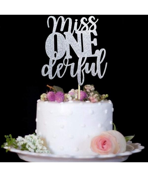 1st Birthday Cake Topper Decorations