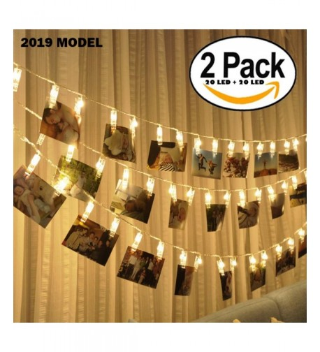 Photo String Lights Battery Operated