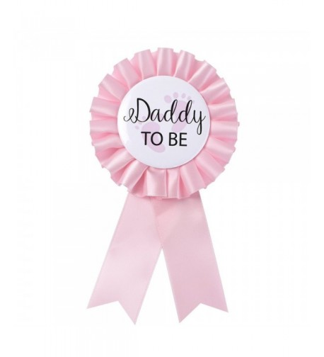 Daddy Tinplate Badge Pin Celebration
